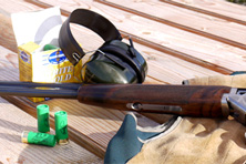 Clay Pigeon shooting at Forrest Estate